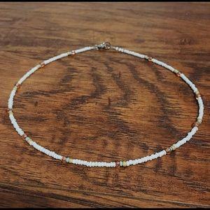 VSCO Seed Bead Seaside Necklace/Choker